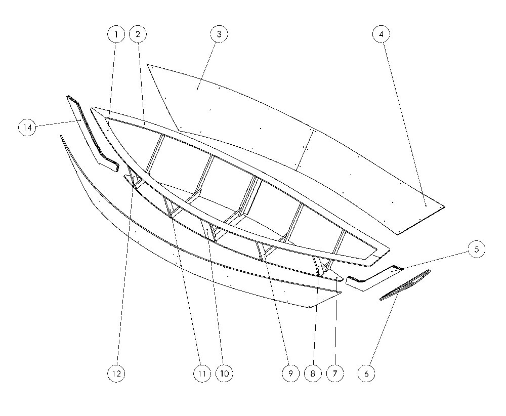 parts of a liberum dory www